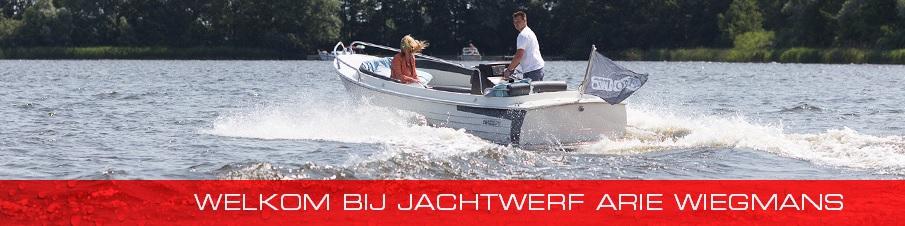 Jachtwerf Arie Wiegmans website