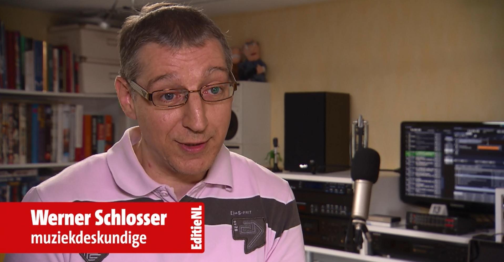 Werner Schlosser muziekdeskundige